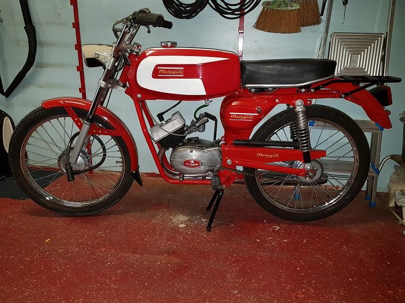 Malaguti 50 cc  1969